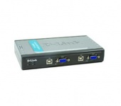 D-Link DKVM-4U, 4 port USB KVM switch, 4xUSB2.0, 2 in1 USB KVM Cable x 2