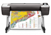 "HP DesignJet T1700dr (44"",2400x1200dpi, 26spp(A1), 128Gb(virtual), HDD500Gb, host USB type-A/GigEth,stand,sheet feed,2 rollfeed,autocutter, TouchScreen, 6 cartridges/3 heads,2y warr)"