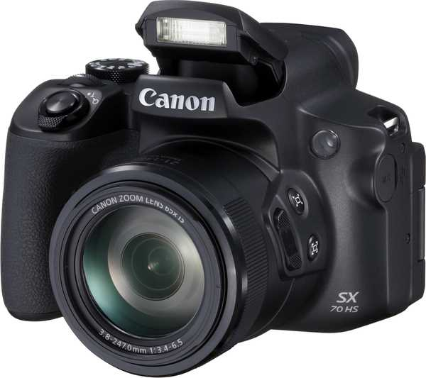 "Фотоаппарат Canon PowerShot SX70 HS черный 16Mpix Zoom65x 3"" 1080p SDXC CMOS IS opt 5minF turLCD rotLCD VF 3.8fr/s RAW 60fr/s HDMI/WiFi/NB-10L"