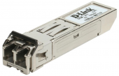 D-Link 211/A1A, SFP Transceiver with 1 100Base-FX port.Up to 2km, multi-mode Fiber, Duplex LC connector, Transmitting and Receiving wavelength: 1310nm, 3.3V power.