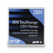 Картридж IBM LTO Ultrium 6 with barcode label